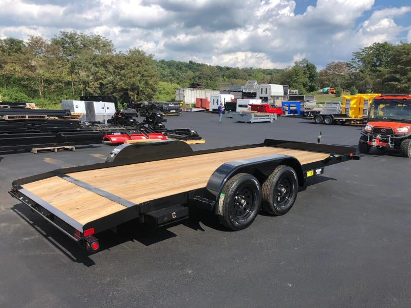 BIGTEX 2019 70CH 7' X 18' CAR HAULER