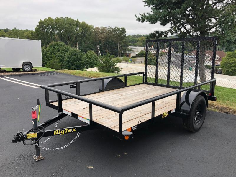 BIGTEX 2019 35SA 6.5' x 12' SINGLE AXLE LANDSCAPE / UTILITY TRAILER
