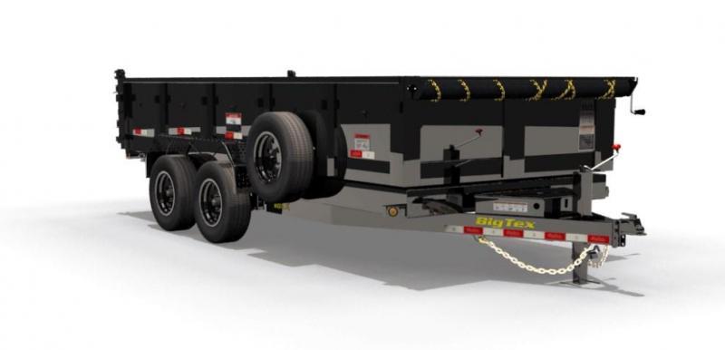 BIGTEX 2019 7' x 16'  16LX Heavy Duty Tandem Axle Dump
