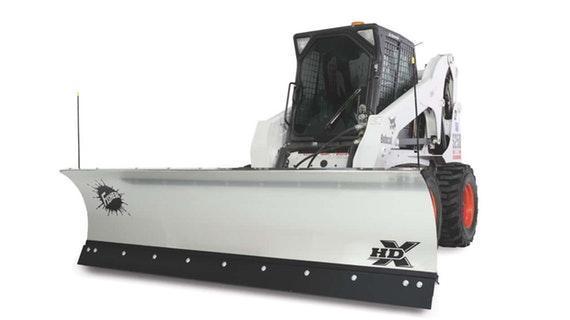 Fisher Skid-Steer Plow Snow Plow