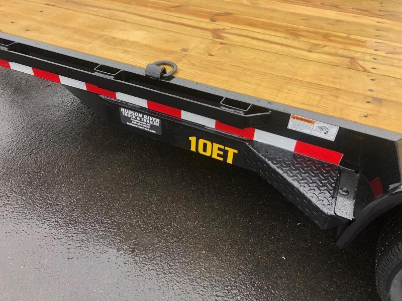 BIGTEX 2020 7 X 16' 10ET Pro Series Tandem Axle Equipment Trailer