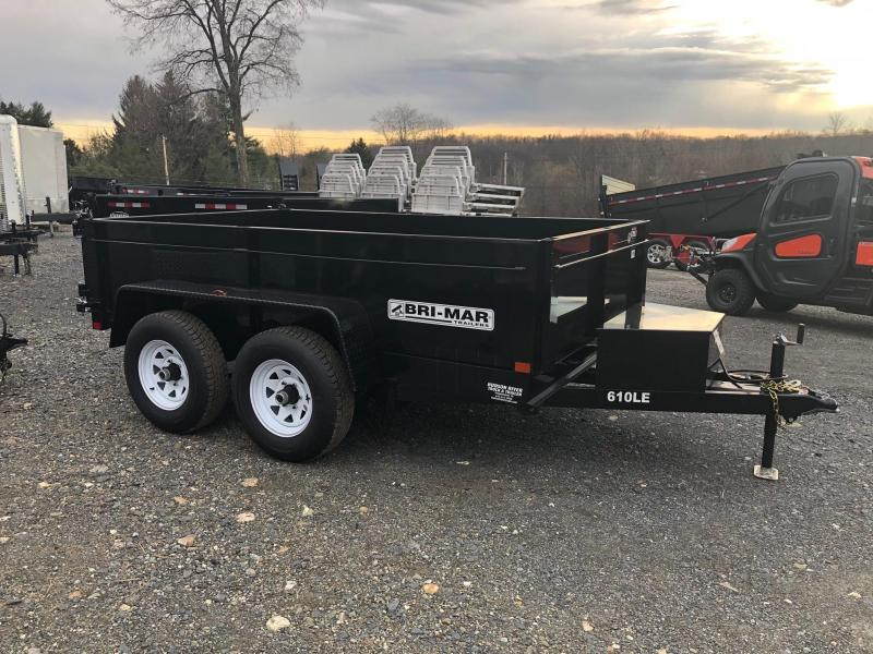 BRI-MAR 2018 6' x 10' LE LOW PROFILE DUMP TRAILER