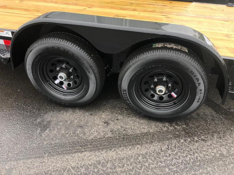 BIGTEX 2020 7 X 18' 10ET Pro Series Tandem Axle Equipment Trailer