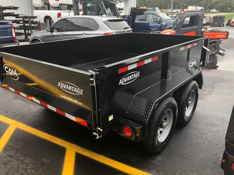 CAM 2019 6' x 10' LOW PROFILE DUMP TRAILER  10000 lb. GVW