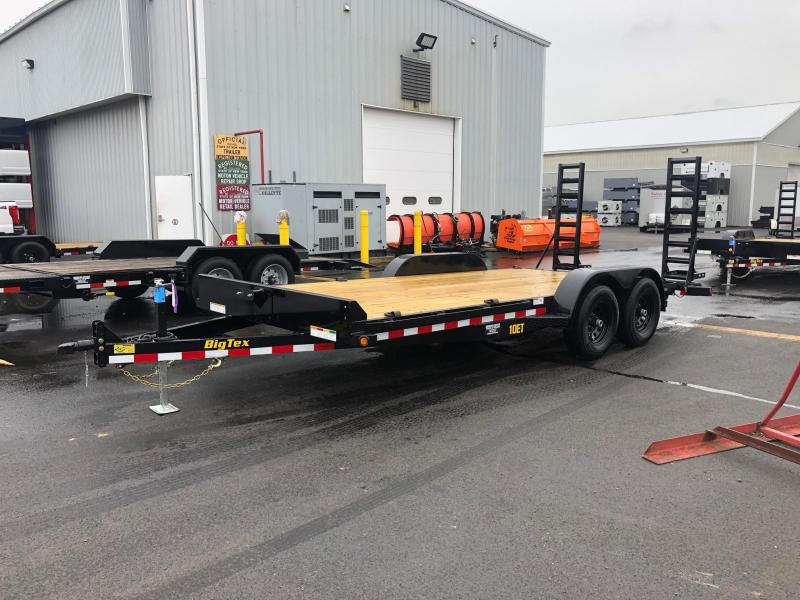 BIGTEX 2020 7 X 18' 10ET Pro Series Tandem Axle Equipment Trailer