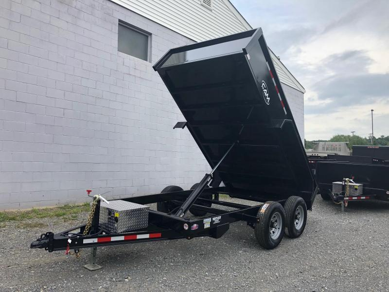 CAM 2019 5-TON 6' x 12' FT LOW PROFILE DUMP TRAILER