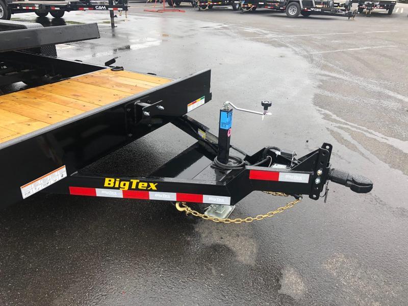 BIGTEX 2020 6.5' X 20' (16+4) 10K TILT EQUIPMENT  TRAILER
