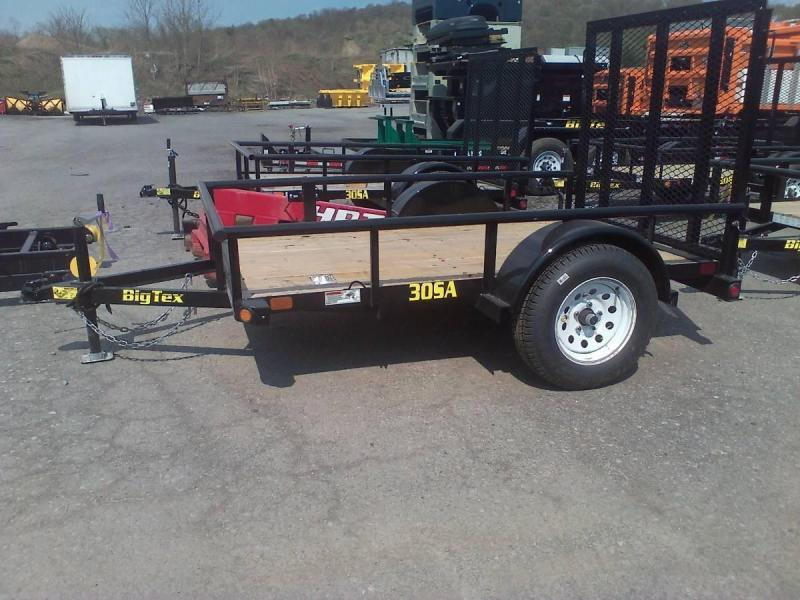 BIGTEX 2017 35SA 6.5' x 10' SINGLE AXLE UTILITY TRAILER