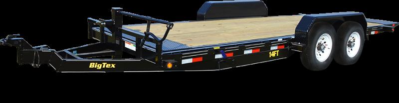 BIGTEX 2019 7' x 18' HEAVY DUTY FULL TILT BED EQUIPMENT TRAILER