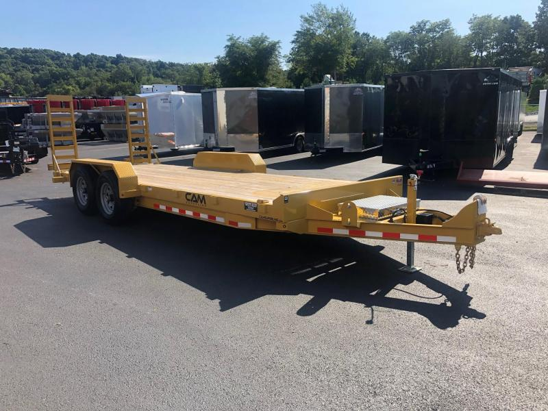 CAM 2019 6CAM18C 8.5' X 20' CHANNEL FRAME EQUIPMENT HAULER