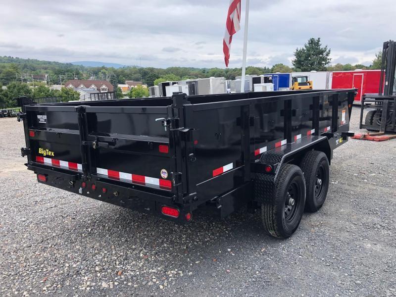 BIGTEX 2019 7' x 16'  14LX Tandem Axle Dump Trailer