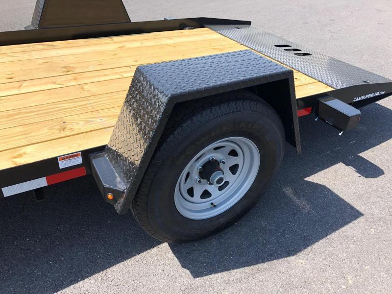 CAM 2019 3 TON  6' x 12' SINGLE AXLE TILT EQUIPMENT TRAILER