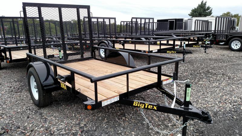 BIGTEX 2018 35SA 6.5' x 10' SINGLE AXLE UTILITY TRAILER