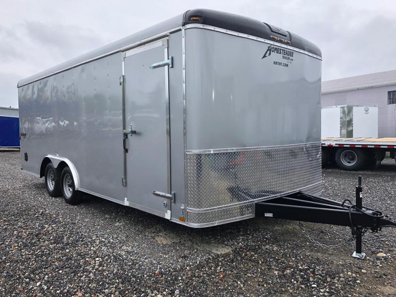 HOMESTEADER 2018 8.5' x 20' SILVER CHALLENGER ENCLOSED TRAILER