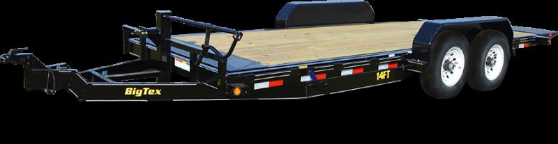 BIGTEX 2019 7' x 20' HEAVY DUTY FULL-TILT BED EQUIPMENT TRAILER 14FT-20