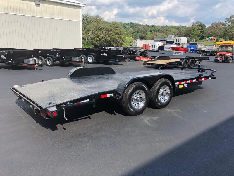 Big Tex 2019 7' x 20' 10 DM Diamond Back Pro Series Car / Racing Trailer / Equipment Trailer