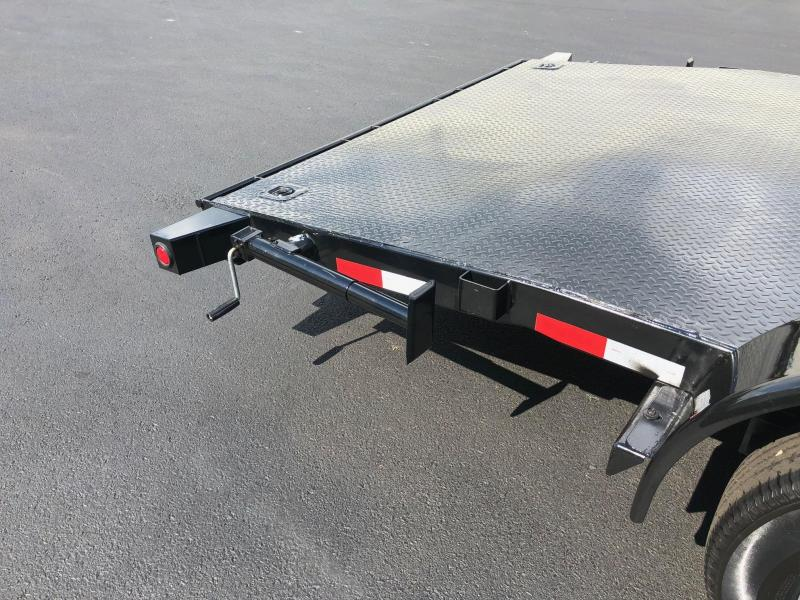 Big Tex 2019 7' x 20' 10 DM Diamond Back Pro Series Car / Racing Trailer / Equipment Trailer