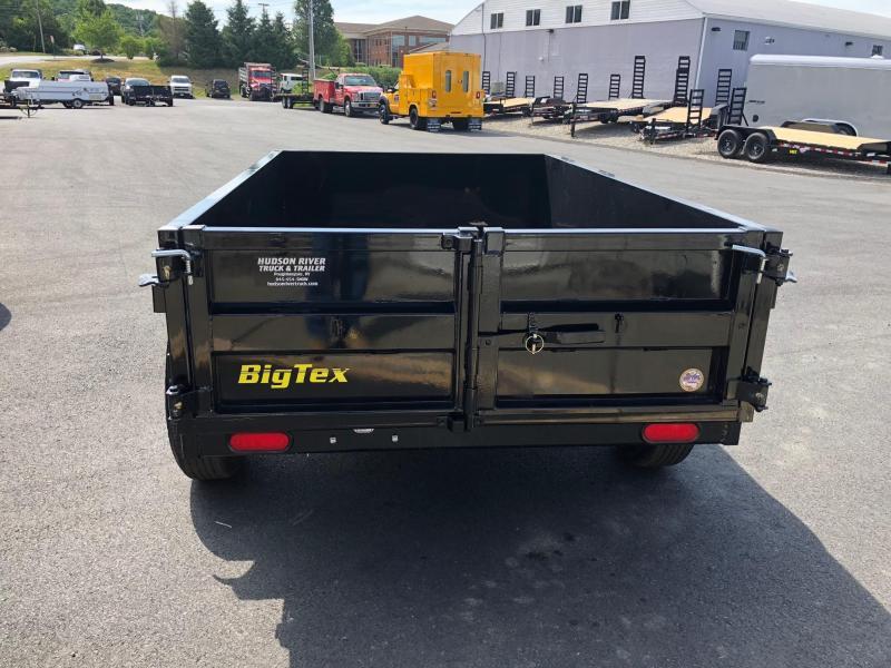 BIGTEX 2019 5' X 8' SINGLE AXLE SINGLE RAM DUMP TRAILER