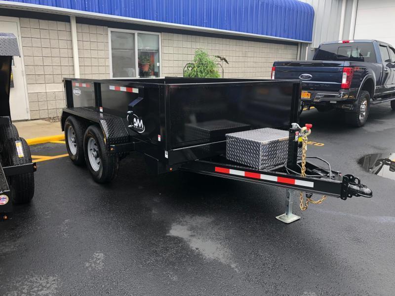 CAMADVANTAGE 2019 6' x 10' LOW PROFILE DUMP TRAILER  10000 lb. GVW