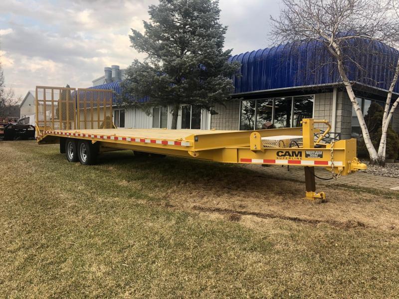 CAM 2019 7-TON 8.5' X 26' HEAVY DUTY DECKOVER CONSTRUCTION/ EQUIPMENT TRAILER