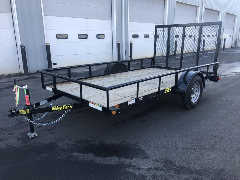 BIGTEX 2019 35ES 6.5' x 12' SINGLE AXLE LANDSCAPE / UTILITY TRAILER