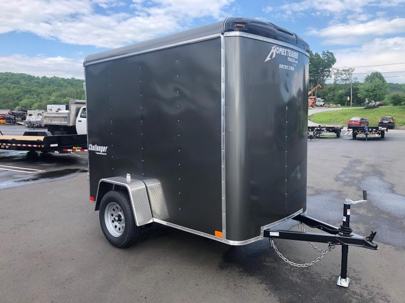 Homesteader 2019  5' x 8' Gray Challenger Enclosed Cargo Trailer