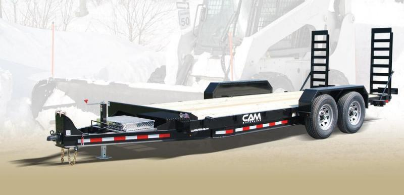 CAM 2019 8.5' x 18' CHANNEL FRAME EQUIPMENT HAULER