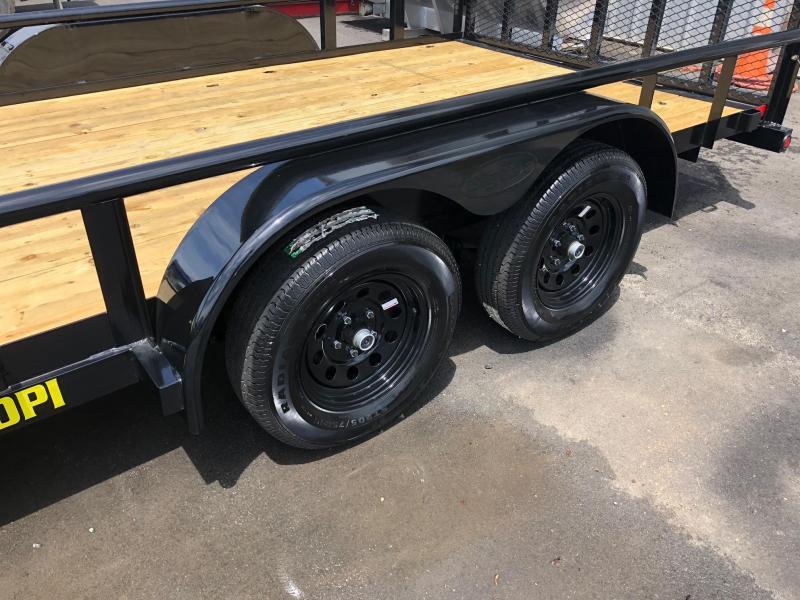 BIGTEX 2019 7' x 16' (70PI) Tandem Axle Pipe Utility