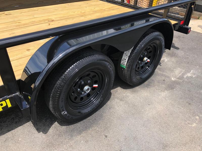 BIGTEX 2019 70PI 7' x 14' Tandem Axle Pipe UTILITY TRAILER