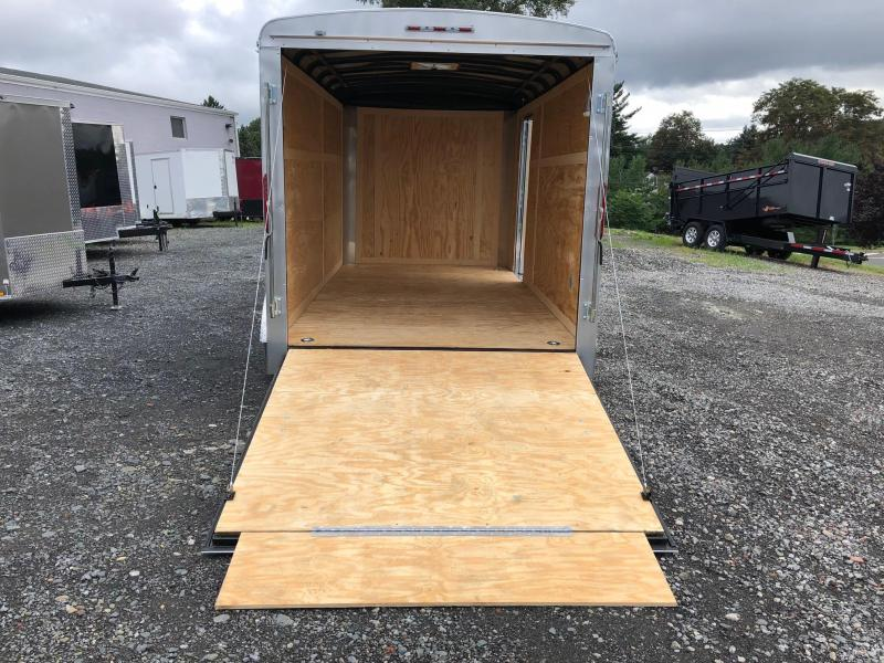 HOMESTEADER 2019 7' x 14' GRAY CHALLENGER ENCLOSED TRAILER