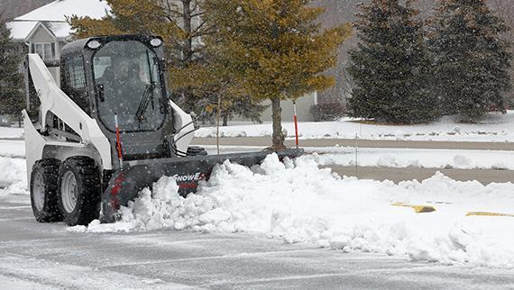 SnowEx SkidSteer Plows Snow Plow
