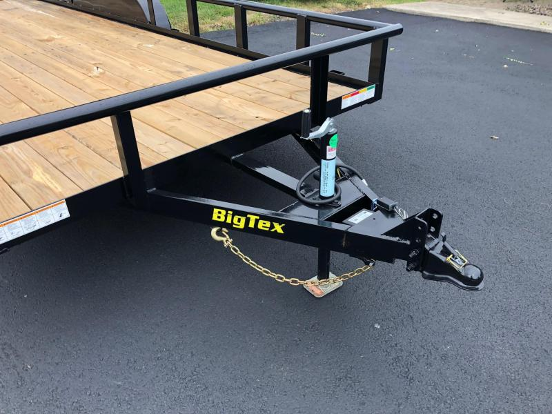 BIGTEX 2019 7' x 20' (70PIX) Tandem Axle Pipe Landscape / Utility Trailer