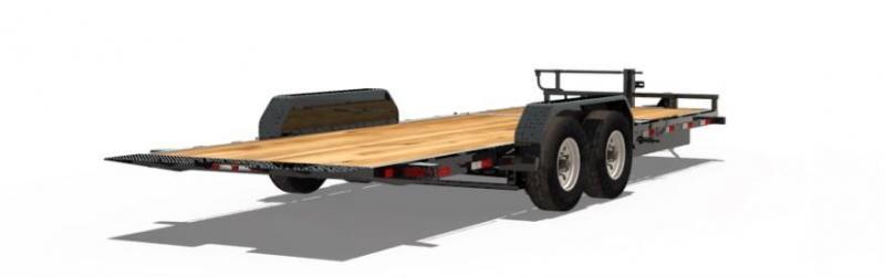 BIGTEX 2019 14TL  6.5'' x 20' SUPER DUTY TILT BED EQUIPMENT TRAILER  14000 lb. GVW