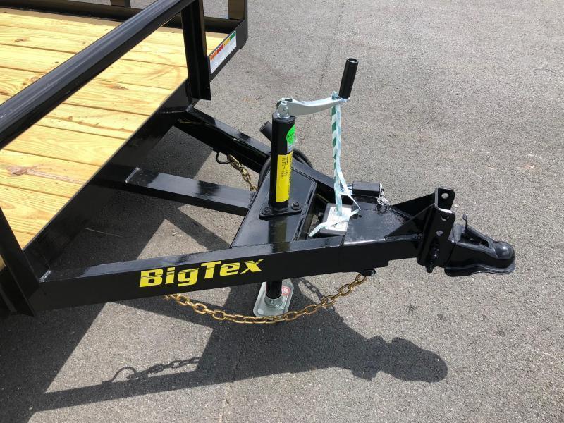 BIGTEX 2020 70PI 7 X 12' TANDEM AXLE LANDSCAPE / UTILITY TRAILER