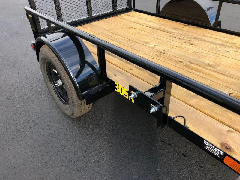 BIGTEX 2019 30 SINGLE AXLE 5' x 8' LANDSCAPE / UTILITY TRAILER
