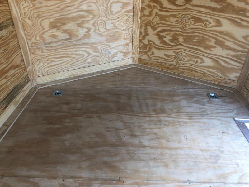 DIAMOND CARGO 2019 8.5' x 20' PEWTER SEMI-SCREWLESS WITH SIDE ESCAPE DOOR TANDEM AXLE ENCLOSED CARGO TRAILER