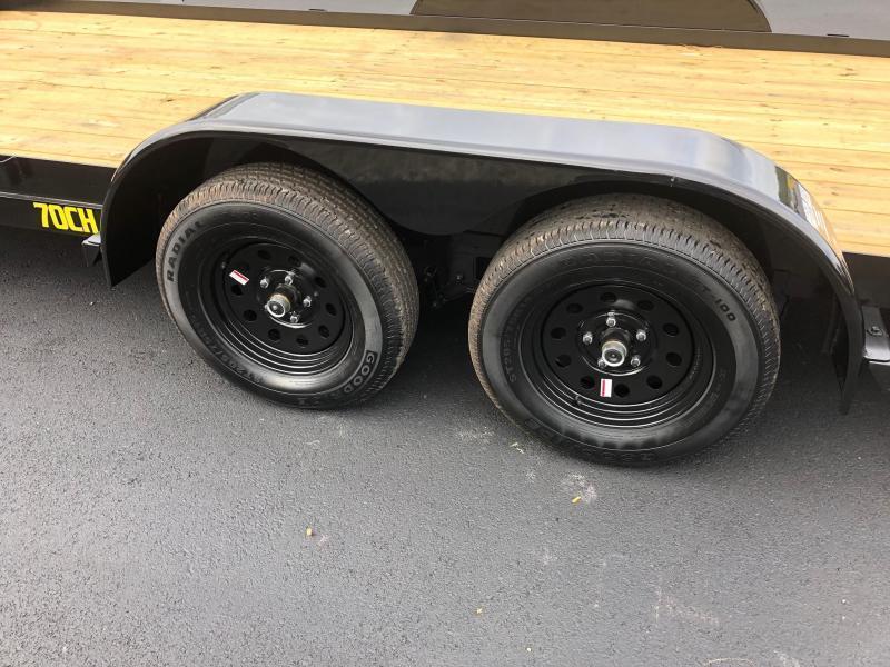 BIGTEX 2020 70CH 7' x 20' TANDEM AXLE CAR HAULER