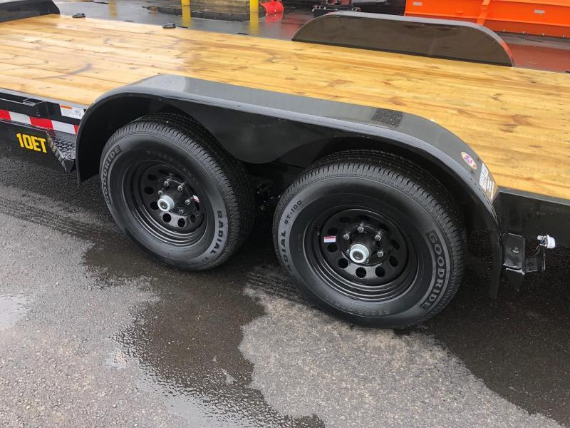 BIGTEX 2020 7' X 20' 10ET Pro Series Tandem Axle Equipment Trailer