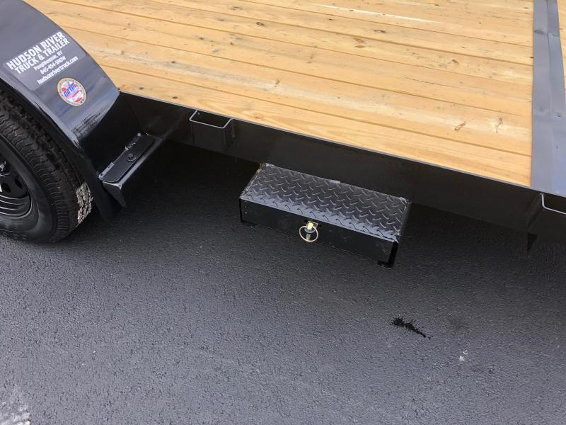 BIGTEX 2019 70CH 7' x 20' TANDEM AXLE CAR HAULER / EQUIPMENT TRAILER