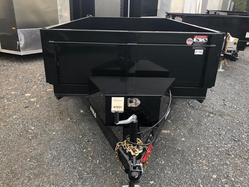 BRI-MAR 2019  6' x 10' TANDEM AXLE LOW PROFILE DUMP TRAILER