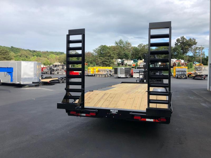 CAM 2019 8-TON 8.5' X 22' HEAVY DUTY DECKOVER CONSTRUCTION TRAILER