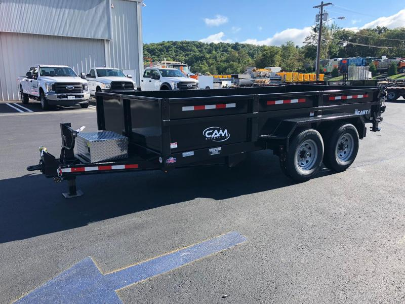 CAM 2019 7-TON 14 FT LOW PROFILE HD DUMP TRAILER