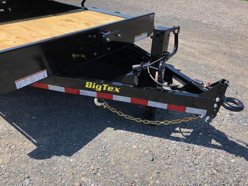 BIGTEX 2019 16TL 7' x 20' SUPER DUTY TILT BED EQUIPMENT TRAILER  17500 GVW