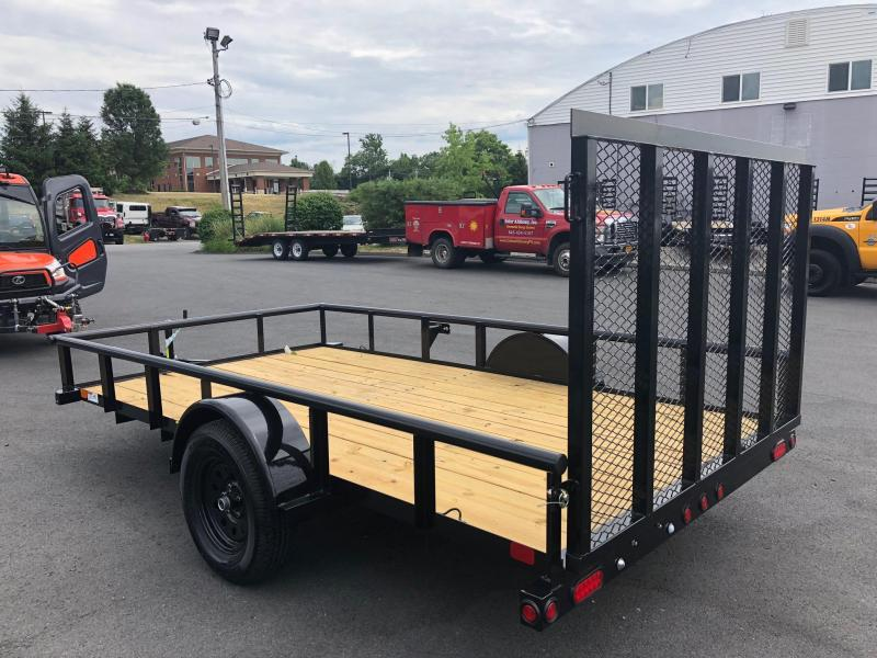 BIGTEX 2019 35SA 6.5' x 12' SINGLE AXLE UTILITY TRAILER
