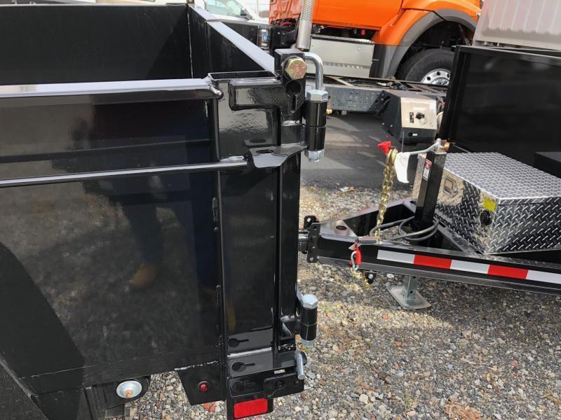 BRI-MAR 2019  6' x 12' TANDEM AXLE LOW PROFILE DUMP TRAILER