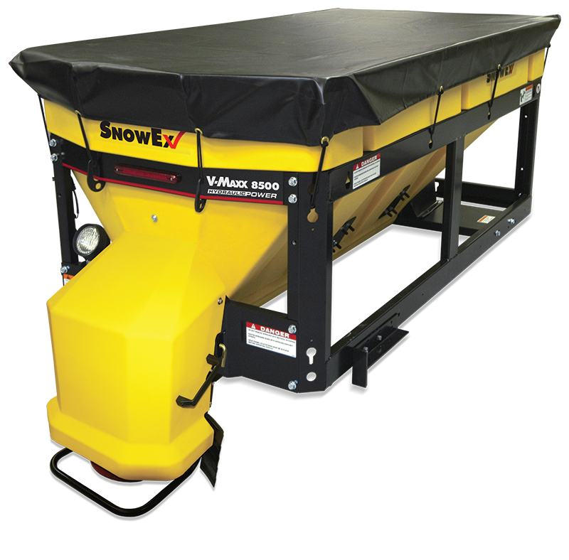 SnowEx V-MAXX SP-8500/SP-8550 Salt Spreader