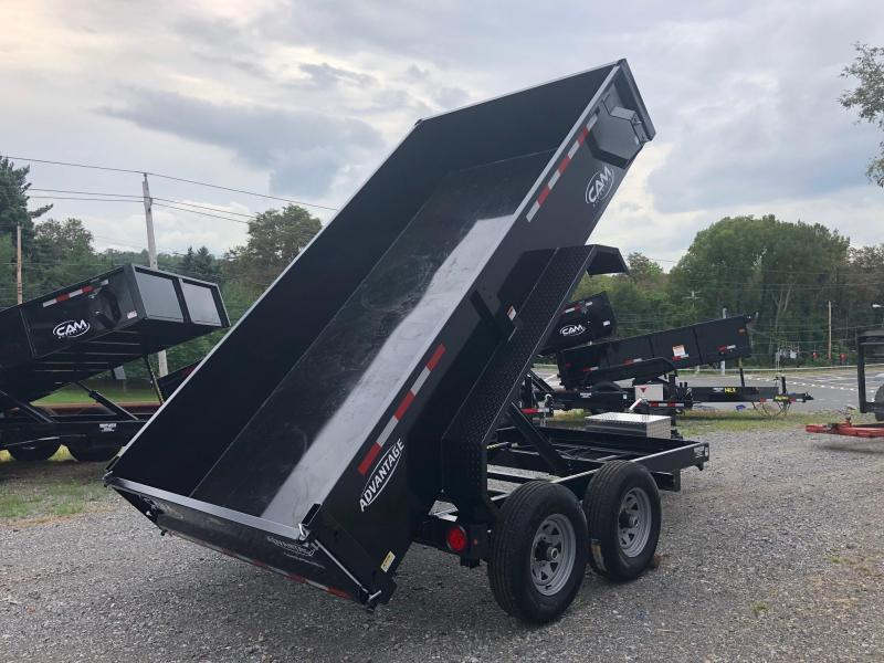 CAM ADVANTAGE 2019 5-TON 6' x 12' FT LOW PROFILE DUMP TRAILER