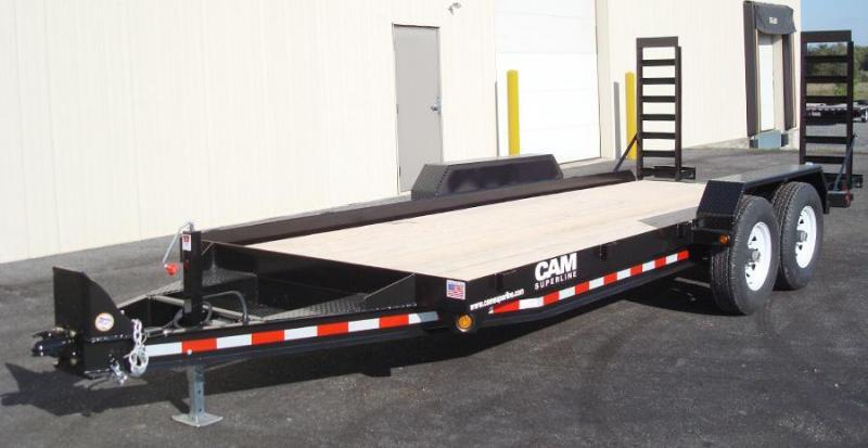 CAM 2019 6 TON 18' ANGLE FRAME EQUIPMENT HAULER