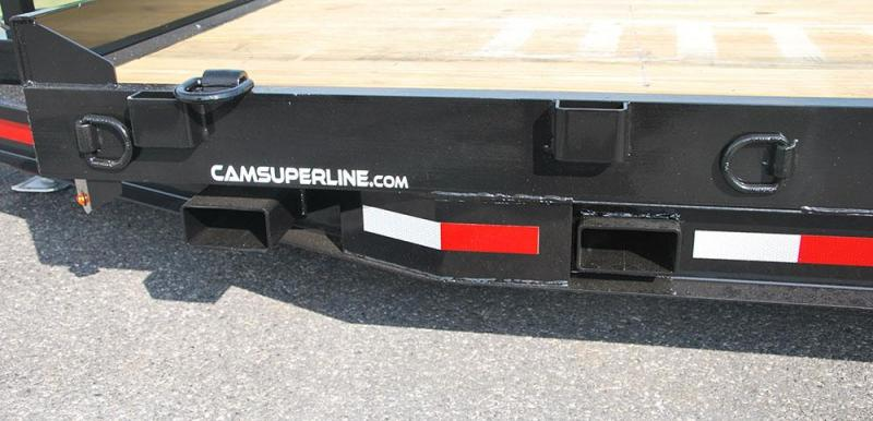 CAM 2018 7CAM20 8.5' X 20' CHANNEL FRAME EQUIPMENT HAULER