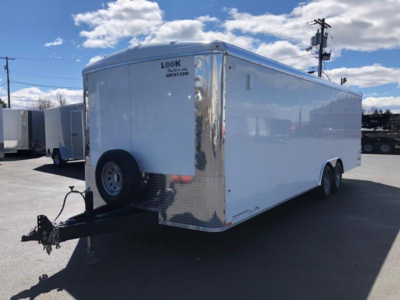 LOOK 2020 SILVER VISION 8.5' X 20' ENCLOSED TRAILER/ CAR HAULER